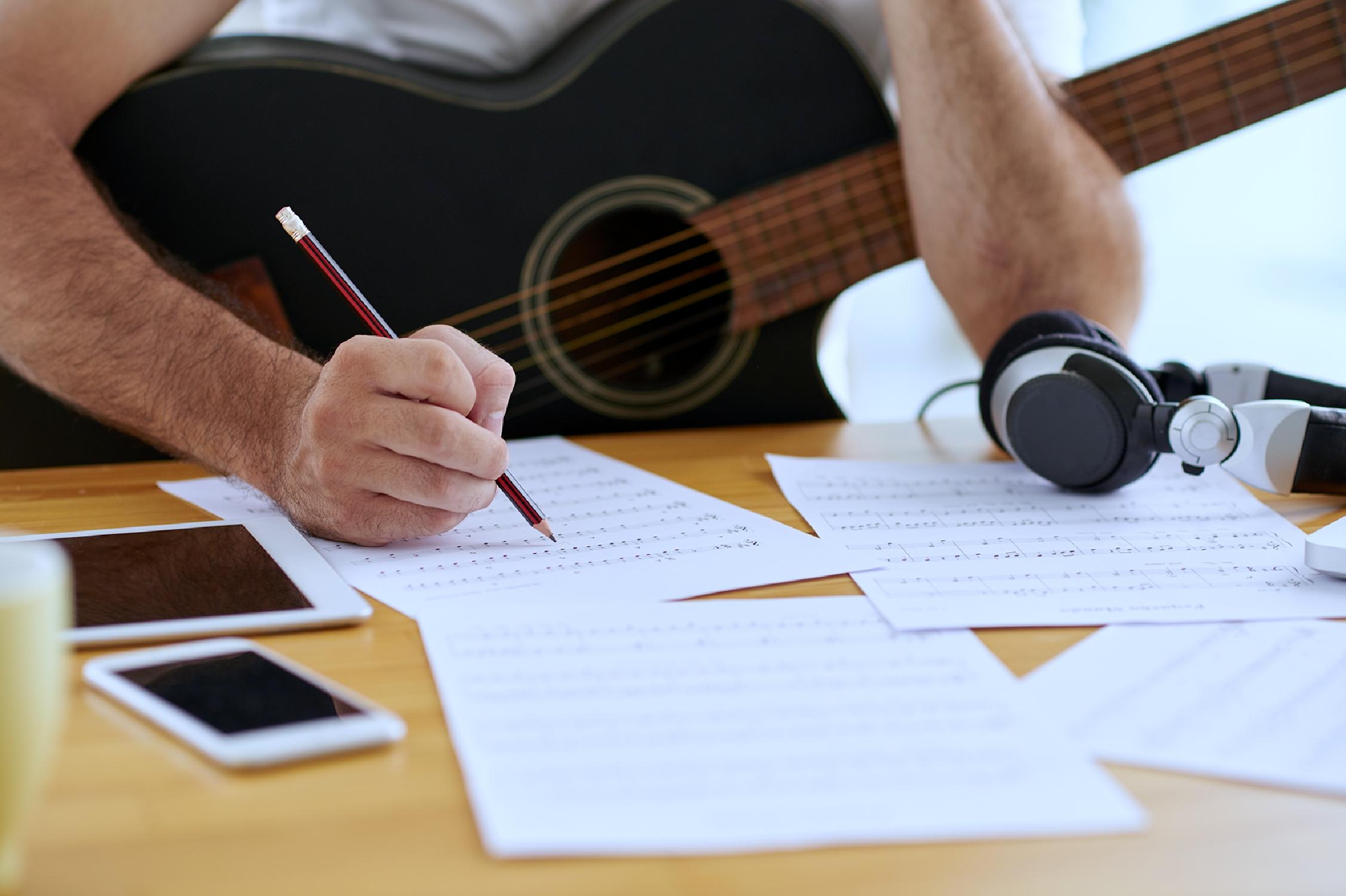 Stage : écrire une chanson