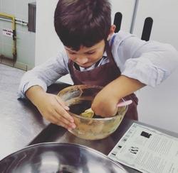 Stage cuisine Enfant : Les petits Chefs du Ritz et leurs assistants Grand-parents!